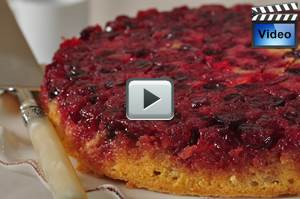 Cranberry Upside Down Cake Joy Of Baking